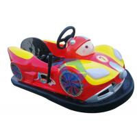 China Attractive Battery Powered Bumper Cars Ride , Customized Amusement Bumper Cars wholesale