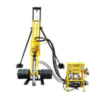 China Portable Pneumatic Rock Drilling Rig DTH Drilling Equipment 0 - 80 Rpm Rotation Speed wholesale