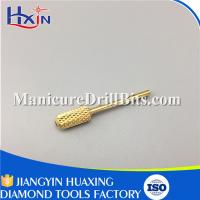 China Round Smooth Top Small Carbide Drill Bits For Acrylic NailsProtect Customers' Hands wholesale