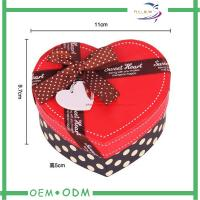 China Heart Shape Chocolate Gift Boxes , unique wedding gift box packaging wholesale