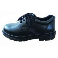 China Industrial Work Shoes Anti Static / Non Slip Work Shoes Black With Non Woven Fabrics Lining on sale