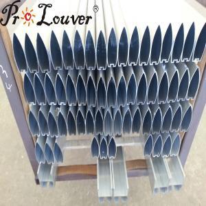 China Hot Sale ! Aerobrise 100mm Louver Blades Aluminum Sun Louver wholesale