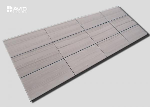 Quality 10mm Wood Grain Marble Wall Tiles Abrasion Resistance Wall Panel Low Price for sale