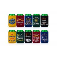 China Eco Friendly Neoprene Bottle Holder Custom Can Koozies For Promotional Gifts wholesale