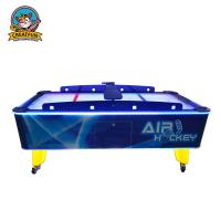 China Indoor Arcade Game Machines Coin Operated Mini Hockey Table Adjustable Light on sale