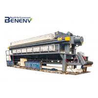 China Fully Automatic Filter Press Machine Large Weight Bearing Rivers Dredging on sale