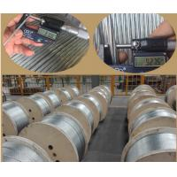 China 3/8 Inch Galvanized Steel Aircraft Grade Wire Rope 7 X 3.05mm For Messenger wholesale