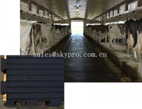 Quality Anti-slip anti-fatigue interlocking rubber mat Customizable textures for sale