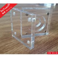 China Souvenir Medal Transparent Acrylic Holder Stand Display Black Base wholesale