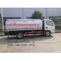 China Best seller!! Chinese famous brand dongfeng ruiling 6wheels 5000liters fuel tank wholesale