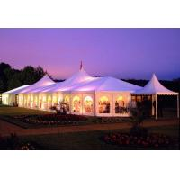 China Romantic Big Aluminium Event Tent 850 G / Sqm Pvc Roof Cover For Banquet on sale