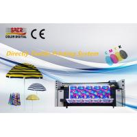 China Roll To Roll Digital Fabric Printing Machine / Direclty Textile Printing System wholesale