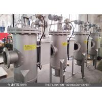 China Automatic 100 microns Self Cleaning Filter strainer Industrial Filter Housing carbon steel material wholesale