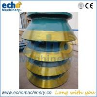 high quality cone crusher spare parts bowl liner for mining,crushing and aggregate plant