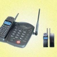China Cordless Telephone with Microcomputer Chip Control and Night Lighting LCD on sale