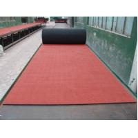 China Elasticity EPDM Rubber Sheet , Red Rubber Paver Track Surface on sale