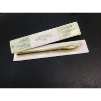 Golden Luxury Disposable Eyebrow Microblading Pen 30G Micropigmentation Hand Tool