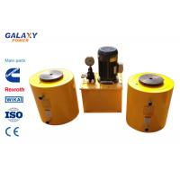 China Double Acting Central Solid Hydraulic Jack Hollow Plunger Hydraulic Cylinders wholesale