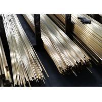 China Brass Bar C3604 - C3771 Copper Alloy Tube For Communication SGS Certificate wholesale