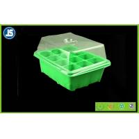 China Green Seed Germination Tray Blister Packaging Tray 224mm x 214mm x 52mm For Greenhouse wholesale
