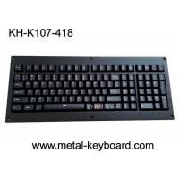 China Ruggedized Backlight Keyboard Full Keys Metal Panel With Cherry Mechnical Switch on sale