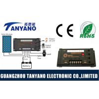 China PWM Mode MPPT Solar Charge Controller with USB & DC 10A and LED light wholesale