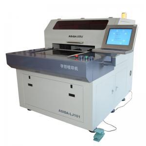 Impressora da legenda da elevada precisão com diodo emissor de luz - tinta UV que cura o sistema para a placa de circuito impresso
