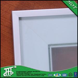 China Modern kitchen cupboard glass doors china glass door metal frame door and window wholesale