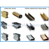 China Kitchen Cabinet Aluminum Window And Door Frame Profile Colorful 6m Length wholesale