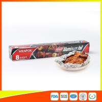 Aluminium Paper Backed Foil For Food Packaging , Aluminum Wrapping Paper for sale