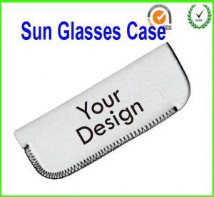 China Glasses Holder Neoprene Sunglass Pouch wholesale