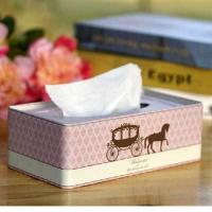 China Wrought iron tissue box on sale