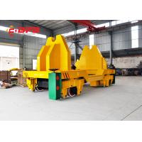 China Customized Steel Rail Transfer Trolley , Scale / Screen Electric Transfer Cart wholesale