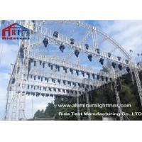 Buy cheap Arch Shape Aluminum Stage Truss , Outdoor Truss StructureTruss Display Systems from wholesalers