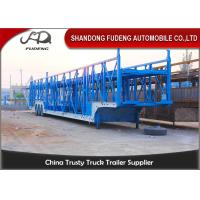 China Steel Chassis Automatic Car Carrier Trailer Double Axles Double Floor wholesale