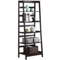 China Wooden Ladder Shelf ,Tall Book Shelves With Customized Color wholesale