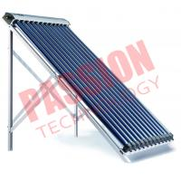 China 14*70mm Condenser Copper Keymark Approved High Efficiency Heat Pipe Solar Collector wholesale