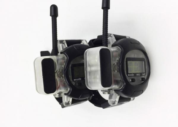 Quality Kids Long Range Walkie Talkies , Spy Walkie Talkie Watch Interphone Toy With Antenna for sale