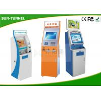 Buy cheap 22 Inch Indoor Multi Touch Self Service Kiosk Free Standing High Brightness from wholesalers