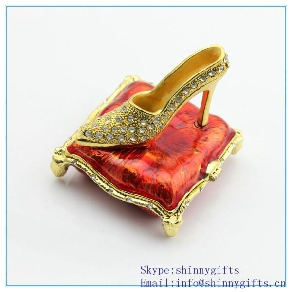 High Heel Shoe Trinket Box