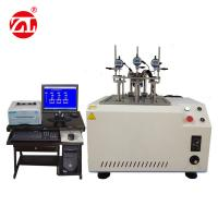 China HDT Heating Deflection Rubber Testing Machine , Plastic VST Softening Point Vicat HDT Tester wholesale