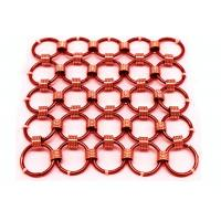 China Customized Chainmail Ring Metal Mesh Drapery For Shopping Mall Hotel Decoration wholesale
