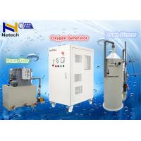 China 1060W 20LPM Oxygen Generator For RAS System With Door Lock , Amp - Meter Control on sale