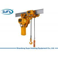 China Super Low Type Electric Chain Hoist 380V / 220V Voltage Lifting Height 3 - 10m wholesale