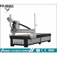 China Pneumatic Double Heads Custom CNC Router Machine For Wood Furniture Making on sale