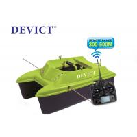 China Green Remote control fishing bait boat DEVC-304M 300-500 M Range RoHS Certification on sale