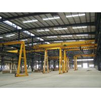 China MH Type 5 Ton Electric Hoist Gantry Crane , Overhead Hoist Crane High Working Performance wholesale
