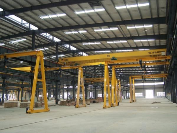 Quality MH Type 5 Ton Electric Hoist Gantry Crane , Overhead Hoist Crane High Working Performance for sale