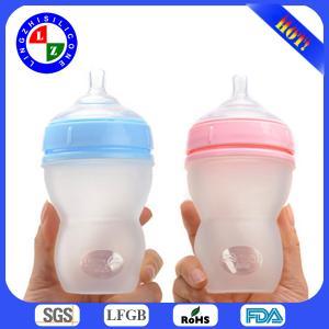 China 2014 BPA free Silicone Baby Bottle on sale