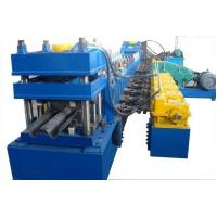China Custom 3 - 4mm 16KW Guardrail Roll Forming Forming Machine Approved CE wholesale